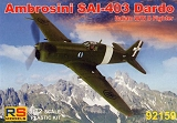 RS MODELS 1/72 Ambrosini SAI 403 Dardo