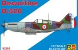RS MODELS 1/72 Dewoitine D520