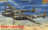 RS MODELS 1/72 Lockheed P38F Lightning