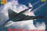 RS MODELS 1/72 Messerschmitt Me P1107