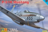 RS MODELS 1/72 North-American P51H Mustang