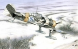 SPECIAL HOBBY 1/72 Fokker D-XXI sur skis
