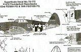 SUPERSCALE 1/72 Republic P47D