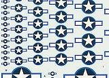 TECHMOD 1/72 USAAF cocardes à liseré bleu