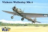 VALOM 1/72 Vickers Wellesley MkI