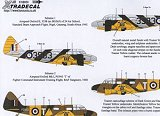 XTRADECAL 1/48 Avions d'entrainement RAF