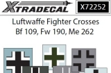 XTRADECAL 1/72 Allemagne croix pour chasseurs