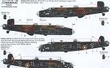 XTRADECAL 1/72 Handley-Page Halifax