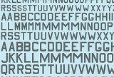 XTRADECAL 1/72 RAF lettres-codes gris