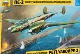 ZVEZDA 1/72 Petlyakov Pe2